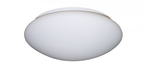 210mm White Glass Light