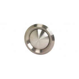 Chrome Round Interior Vent
